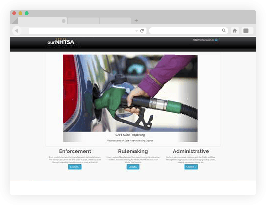 NHTSA Screen